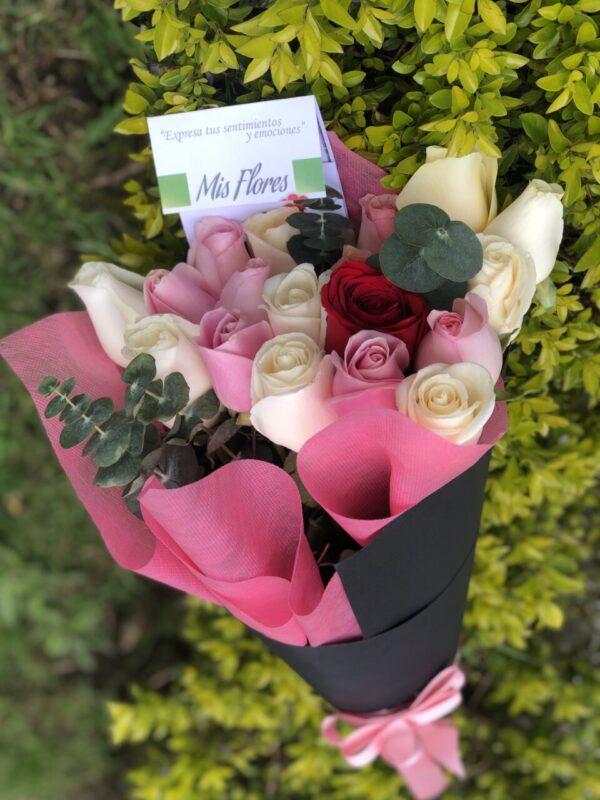 cono-de-rosas-flores-a-domicilio